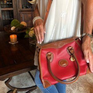 Authentic Vintage Red Dooney & Bourke Purse